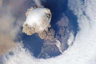 Iss-volcano